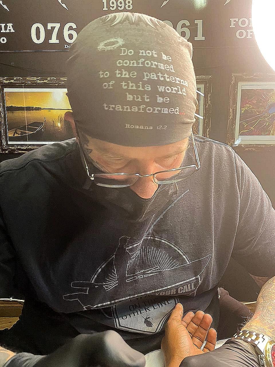 christain tattoo artist