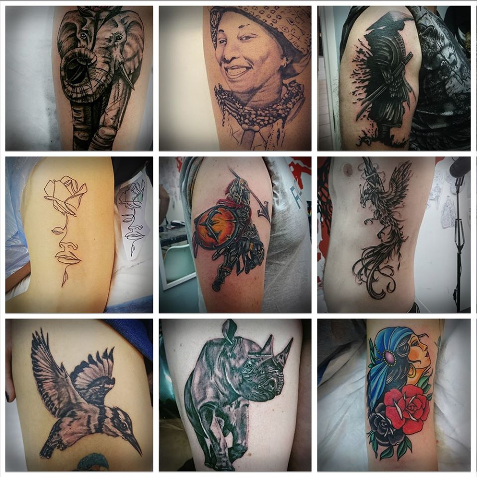 Tattoo and Piercing Studio - Northview Shopping Center.